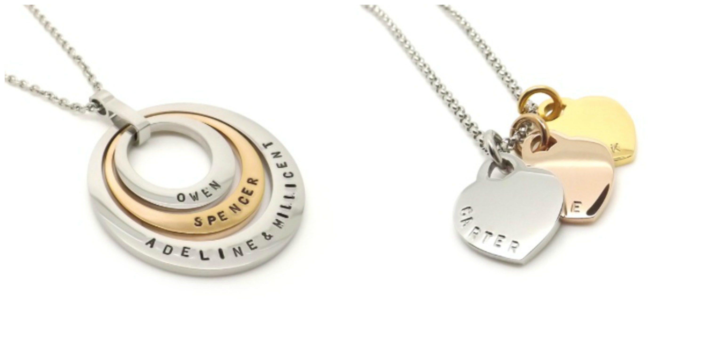 MAMADOO GAM stamped with love personalised jewellery