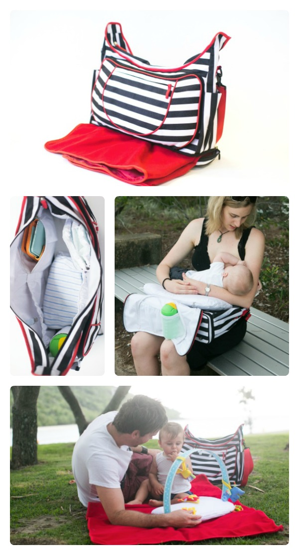 Mamadoo GAM ultimate all in one nappy bag