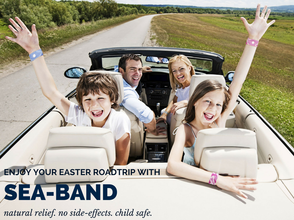 sea-band family easter holiday travel sickness