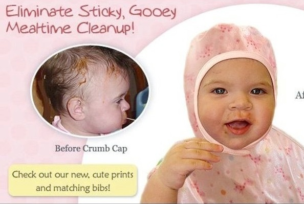 crumb cap weird baby products