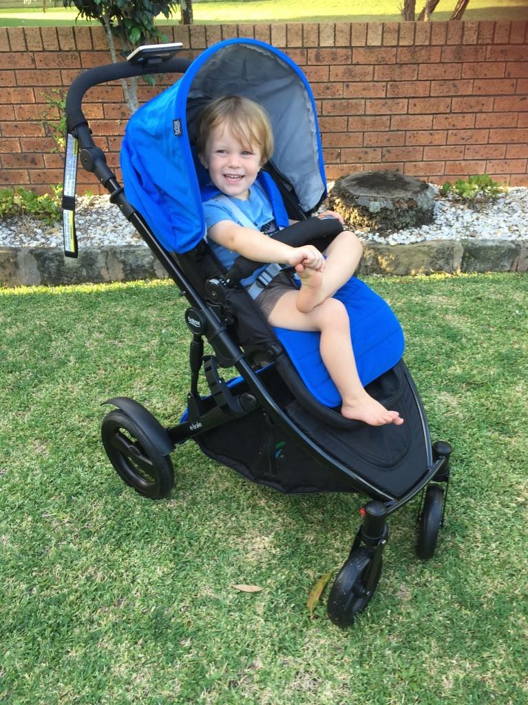 ebrake stroller review 2