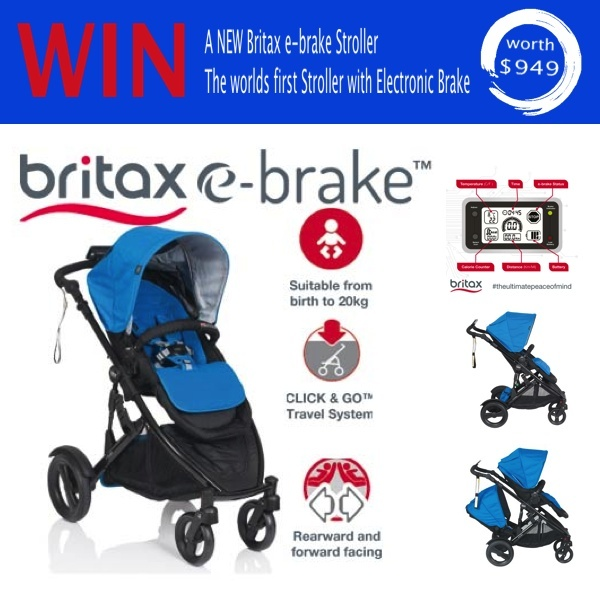 Go Ask Mum Britax E Brake Stroller Review Plus Giveaway Rrp 945