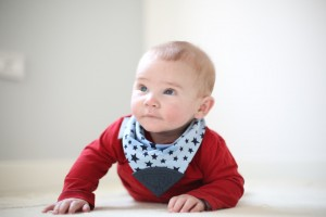 neckerchew dribble bib teether