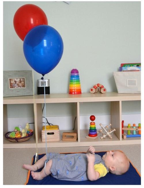 Helium Balloon Play