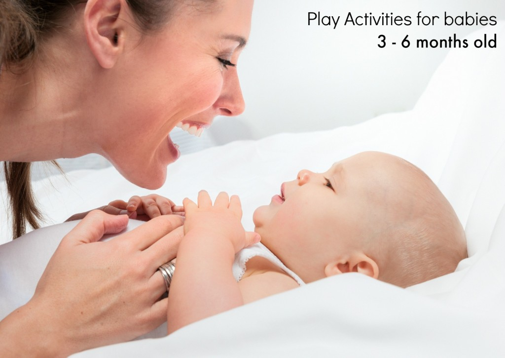 Play activities 3 to 6 month babies
