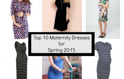 Top 10 Maternity dresses