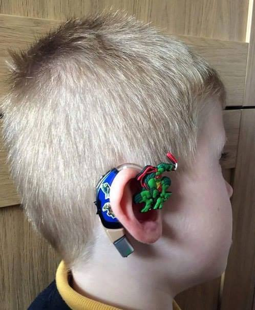 ninja turtle hearing aid