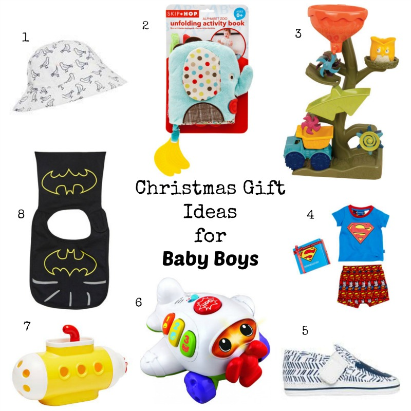 Christmas gifts for baby boy