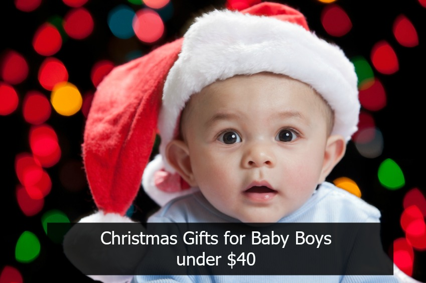 Christmas Gifts for baby boys under $40