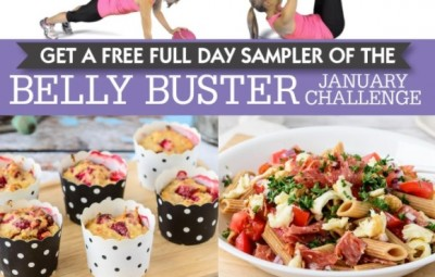 belly buster challenge lose baby weight