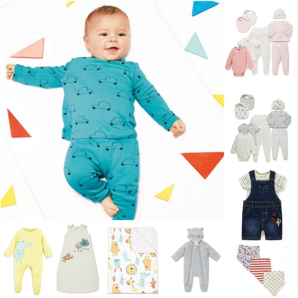 Marks and Spencer baby shower baby clothing