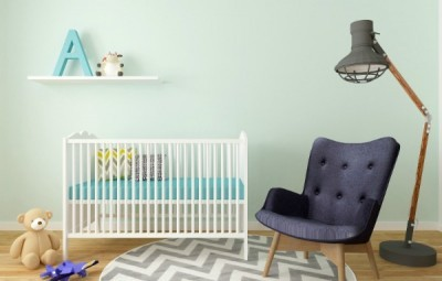 decorating nursery on a budget