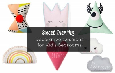 decorative cushions for kids bedrooms