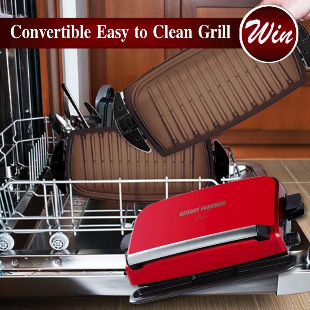 George Foreman Convertible Easy To Clean Grill Review