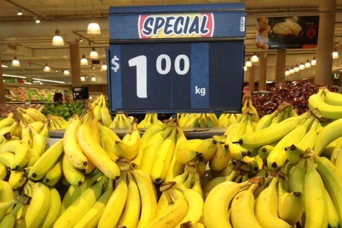 Banana prices drop