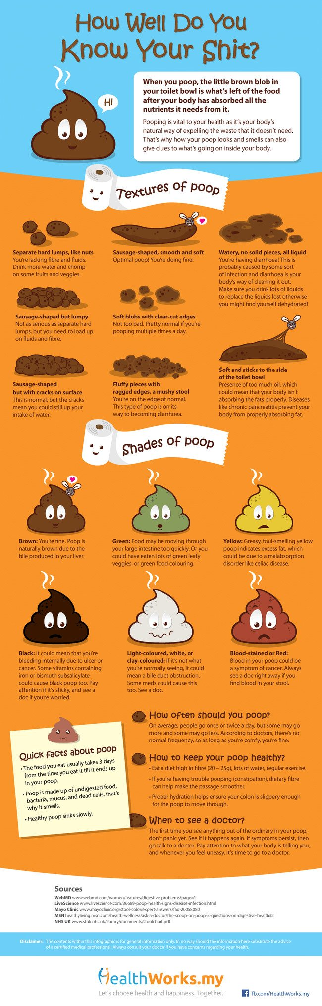 how well do you know your kids poop