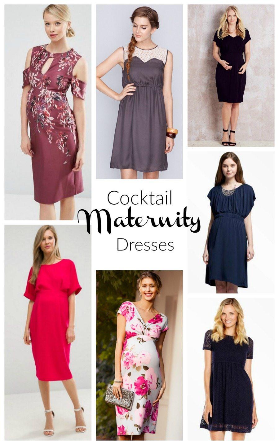 cocktail maternity dresses