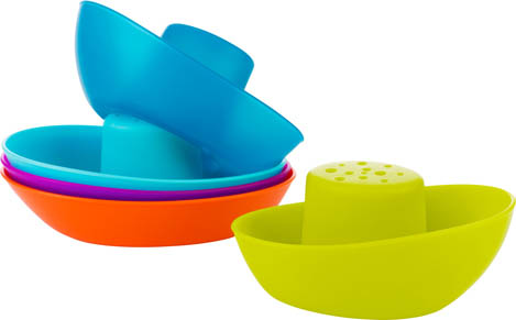 Boon Baby Bath Toys Fleet of Boats