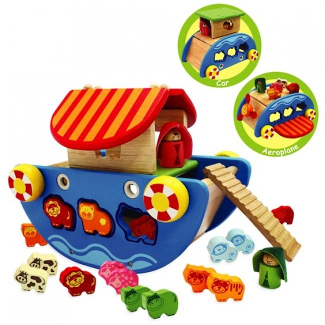 Noah's Ark Toy 3 in 1