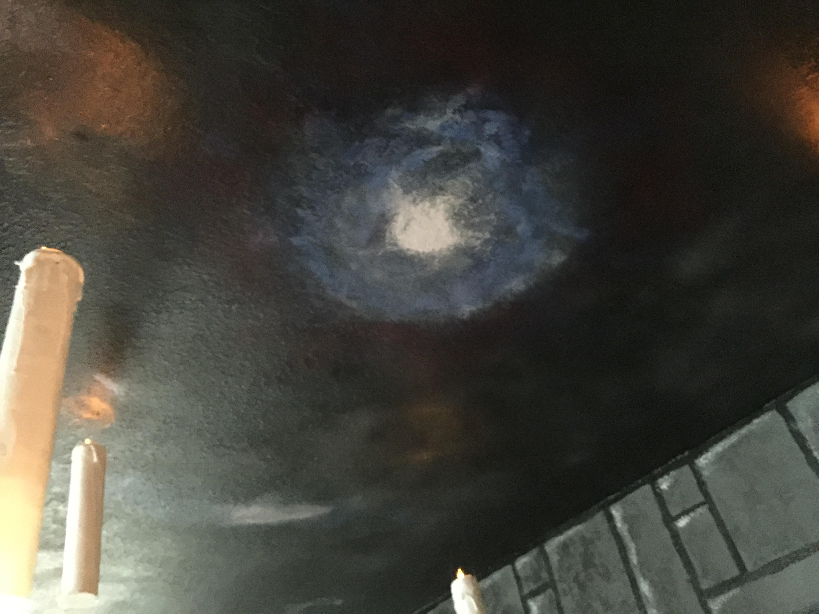 harry potter bedroom ceiling