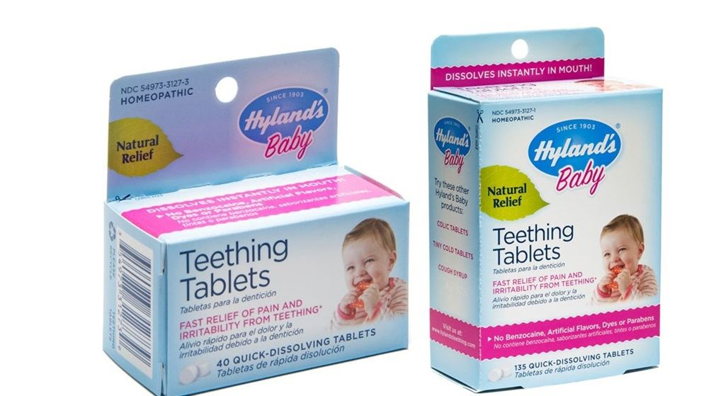 Go Ask Mum Hyland's Baby Teething Tablets Recalled After ...