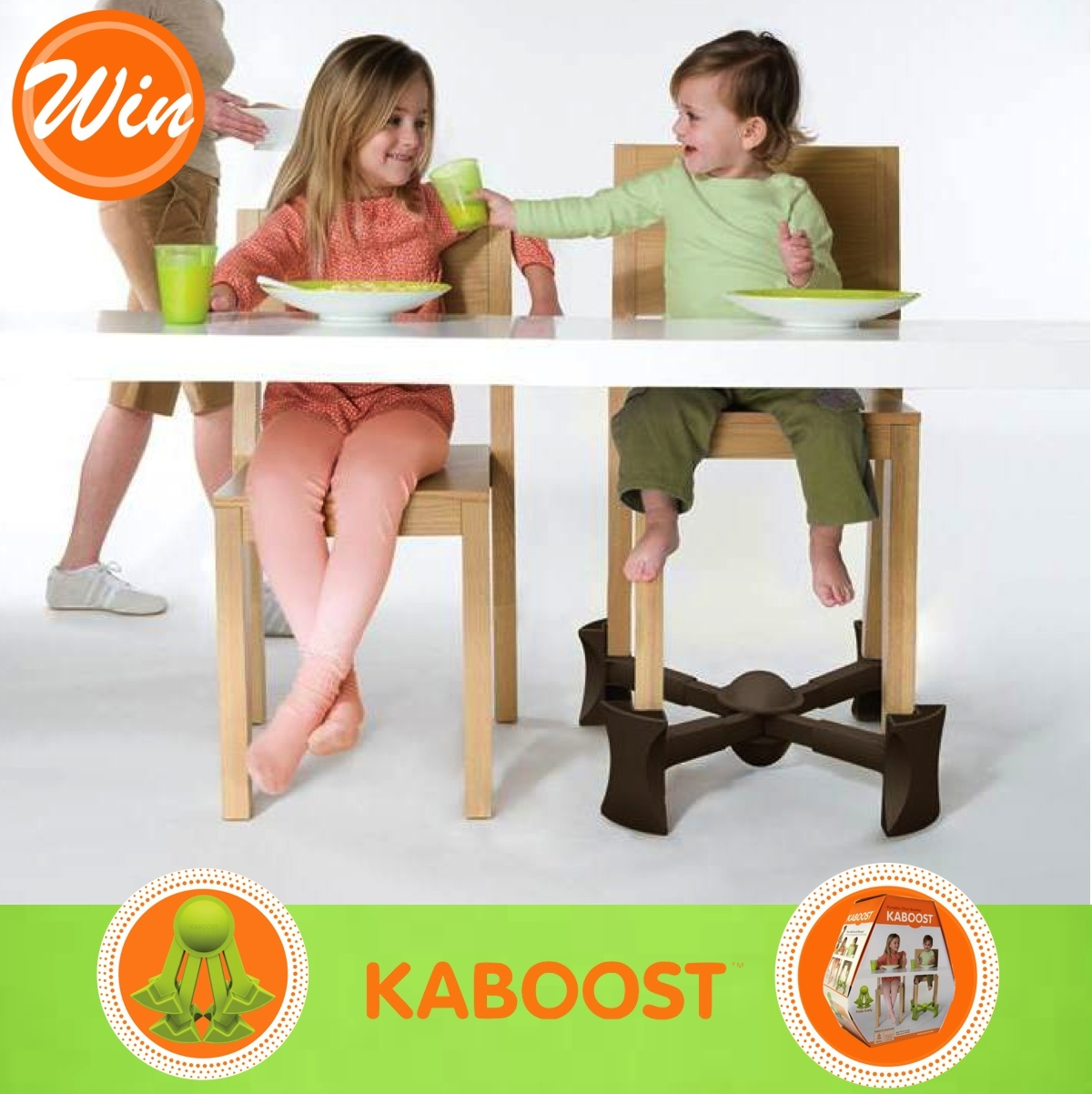 Go Ask Mum Win 1 Of 2 Kaboost Portable Chair Boosters Go