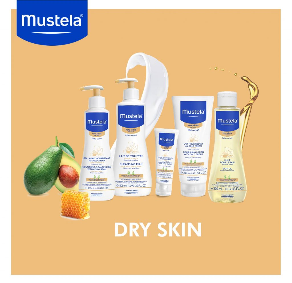 Go Ask Mum What Is Your Baby's Skin Type? Mustela Hamper