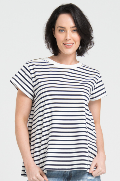 stripes tee for mums