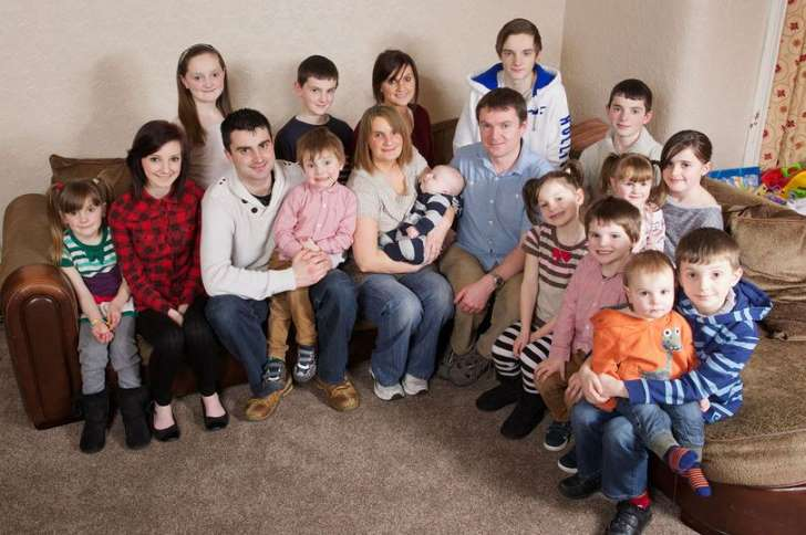 Britain's Largest Family Add Baby Number 20 to The Clan
