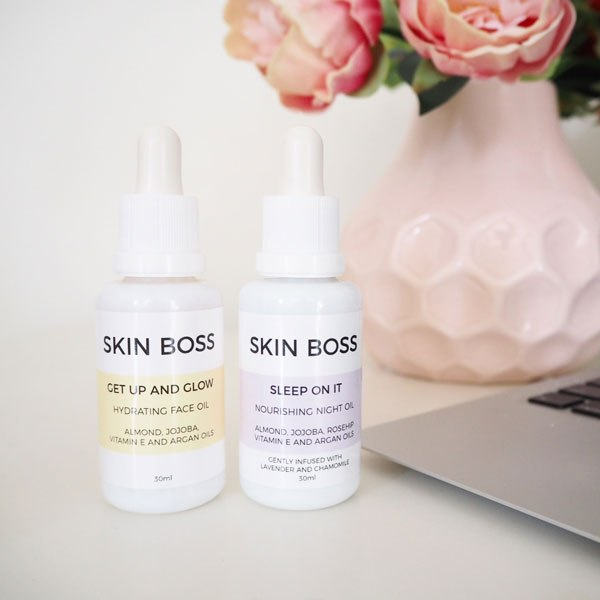 Skin boss facial oils